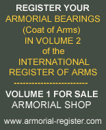 Register your Arms in Volume 2 - International Rgister of Arms